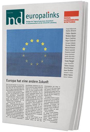 Europalinks-Texte der LuX und des ND